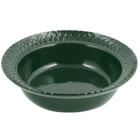 Bon Chef 2307 2.5 Qt. Hunter Green Sandstone Finish Cast Aluminum Trellis Bowl
