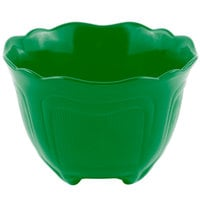 Bon Chef 9060 1.5 Qt. Calypso Green Sandstone Finish Cast Aluminum Garnish Bowl