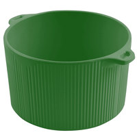 Bon Chef 9145 2 Qt. Calypso Green Sandstone Finish Cast Aluminum Pot with Bail Handle