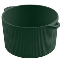 Bon Chef 9145 2 Qt. Hunter Green Sandstone Finish Cast Aluminum Pot with Bail Handle