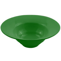 Bon Chef 9172 3 Qt. Calypso Green Sandstone Finish Cast Aluminum Wide Rim Bowl