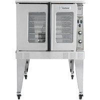 Garland MCO-ED-10-S Single Deck Deep Depth Full Size Electric Convection Oven - 240V, 1 Phase, 10.4 kW