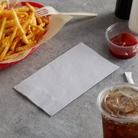 Choice 15 inch x 17 inch Customizable Silver / Gray 2-Ply Paper Dinner Napkin - 1000/Case