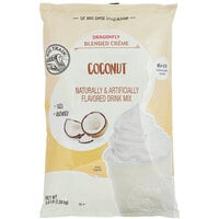 Big Train 3.5 lb. Dragonfly Coconut Blended Creme Frappe Mix