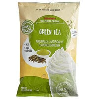 Big Train 3.5 lb. Dragonfly Green Tea Blended Creme Frappe Mix