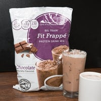 Big Train 3 lb. Fit Frappe Chocolate Protein Drink Mix