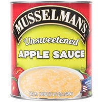 Musselman's #10 Can Natural Unsweetened Applesauce - 6/Case