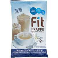 Big Train 3 lb. Fit Frappe Vanilla Latte Protein Drink Mix