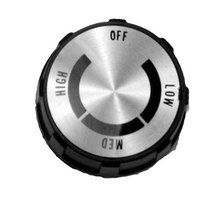 All Points 22-1070 2 inch Knob (Off, Low, Med, High)