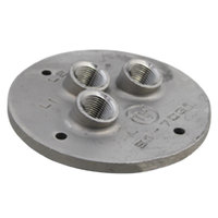 All Points 26-2484 Probe Plate; 4 3/16 inch; 3/8 inch FPT Probe Holes