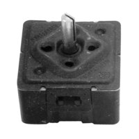 All Points 42-1025 Infinite Control Switch with D-Stem Shaft - 15A/208V