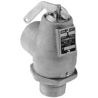 All Points 56-1318 15 PSI Chrome Steam Safety Relief Valve - 3/4 inch NPT, 446 lb./Hour