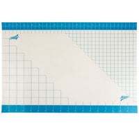 Ateco 698 36 inch x 24 inch Non-Stick Silicone Baking Work Mat with Grid Measurements
