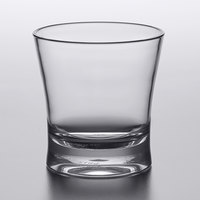 Carlisle 561207 Alibi 12 oz. SAN Plastic Double Rocks / Old Fashioned Glass - 24/Case