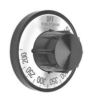 All Points 22-1007 2 inch Broiler / Oven Thermostat Dial (Off, 200-550)