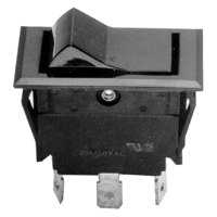 All Points 42-1235 Fan Switch; 7/8 inch x 1 1/2 inch; 250V
