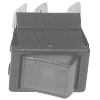 All Points 42-1223 Off/Momentary On Lighted Rocker Switch - 16A/250V