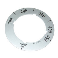 All Points 22-1406 Knob/Dial Insert; Off, 100-450
