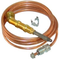 All Points 51-1311 1900 Series Heavy Duty Coaxial Thermocouple - 48 inch