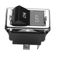 All Points 42-1240 On/Off Rocker Switch - 15A/125V, 10A/250V