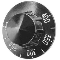 All Points 22-1027 2 1/4 inch Range / Fryer / Braising Pan Thermostat Dial (Off, 200-400)