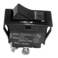 All Points 42-1191 On/Off Lighted Rocker Switch - 20A/250V