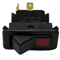 All Points 42-1248 On/Off Lighted Rocker Switch - 20A/125-277V