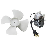 All Points 68-1174 Evaporator Fan Motor with 6 inch Fan Blade for Victory - 120V