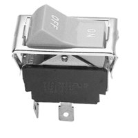 All Points 42-1045 Rocker Blower Switch - SPST, 2 Terminals