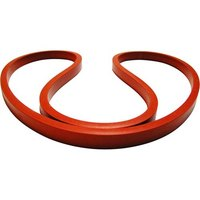 All Points 32-1658 18 inch x 0.646 inch x 0.420 inch Silicone Lid Gasket