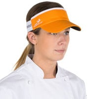 Headsweats Orange Customizable CoolMax Chef Visor