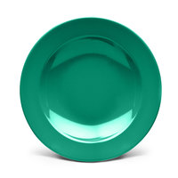 Elite Global Solutions D12PB Rio Autumn Green 24 oz. Round Melamine Pasta / Soup Bowl - 6/Case