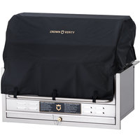 Crown Verity ZCV-BC-36-BI BBQ Cover for BI-36 with Roll Dome