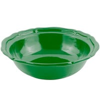 Bon Chef 9054 Queen Anne 10 Qt. Calypso Green Sandstone Finish Cast Aluminum Salad Bowl