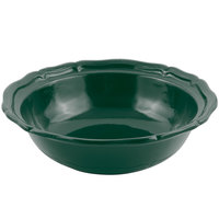 Bon Chef 9054 Queen Anne 10 Qt. Hunter Green Sandstone Finish Cast Aluminum Salad Bowl