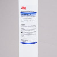 3M Water Filtration Products CFS8812ELX 17 1/8 inch Replacement Cyst Reduction Cartridge - 0.5 Micron and 1.67 GPM