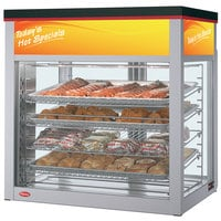 Hatco WFST-1X Flav-R-Savor Humidified Two Door Large Capacity Merchandising Cabinet - 1790W