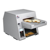 Hatco ITQ-1000-1C Intelligent Toast-Qwik Conveyor Toaster with 2 inch Opening and Digital Controls - 208-240V