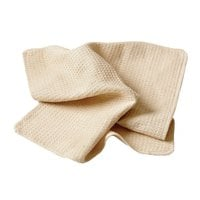 Chef Revival 18 inch x 18 inch Natural Waffle-Weave Kitchen Towel - 12/Pack