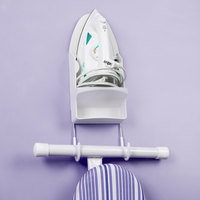 Rubbermaid FG245506WHT White Ironing Board Holder and Organizer