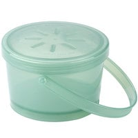 GET EC-07 12 oz. Jade Green Customizable Reusable Eco-Takeouts Soup Container - 12/Pack