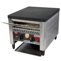 Nemco 6800 10 1/2 inch Wide Conveyor Toaster with 2 inch Opening - 120V