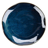 Tuxton GAN-008 TuxTrendz Artisan Night Sky 11 5/8 inch China Plate - 12/Case