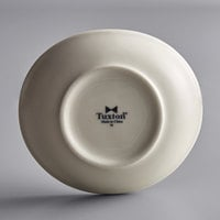 Tuxton BEB-185J 18.5 oz. Eggshell Oval China Bowl - 12/Case