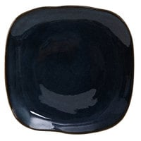 Tuxton GAN-501 TuxTrendz Artisan Night Sky 9 inch Square China Plate - 12/Case
