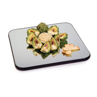 Geneva 260 28 inch Square Rimless Mirror Food Display Tray