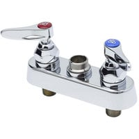 T&S B-1110-LN Deck Mounted Workboard Base Faucet with 4 inch Centers