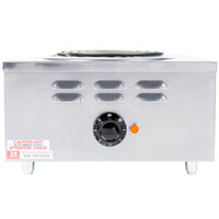 APW Wyott CHP-1A Workline Single Open Burner Portable Electric Hot Plate - 120V, 1650W