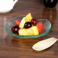 10 Strawberry Street HD909OC Izabel Lam Morning Tide 4 oz. Ocean Clear Glass Serendipity Bowl - 48/Case