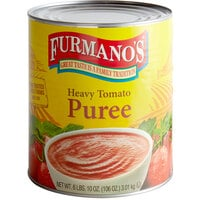 Furmano's #10 Can Heavy Tomato Puree - 6/Case